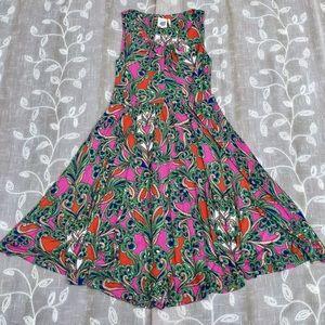 LILKA Seaglass Keyhole Chemise Dress
